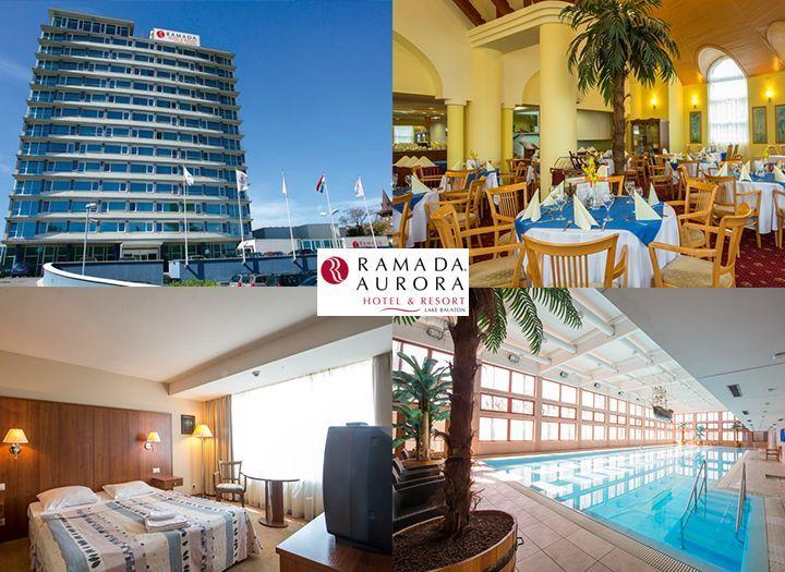 Mai utazás Belföld Kupon - 40% kedvezménnyel - Mai utazás Belföld - Pihenés a Balatonnál! 3 nap 2 éjszaka szállás 2 fő részére félpanziós ellátással, korlátlan wellness használattal most 51 600 Ft helyett 31 000 Ft-ért a Ramada AURORA Hotel & Resort Lake Balaton**** jóvoltából! Most fizetendő: 4 650 Ft!.