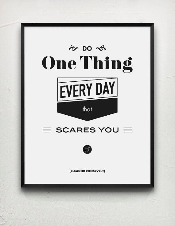 Roosevelt Quote USA President Typography Poster by MessProject, €17.00  #wallartdecor #blackandwhite #typography #quote #papergoods #poster #homedecoration #roosevelt