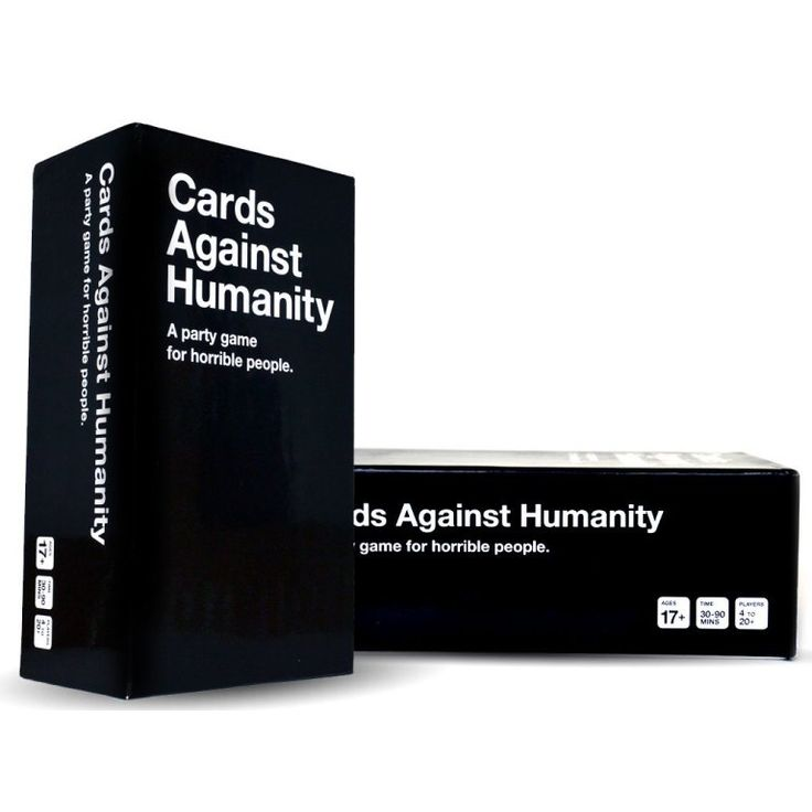 Cards against humanity: yes, it's pretty bad, but also pretty funny.