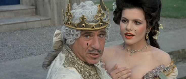 """""""It's good to be the king."""" Mel Brooks in History Of The ..."""
