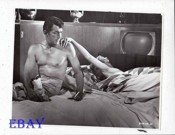 Dean Martin barechested w/cig VINTAGE Photo