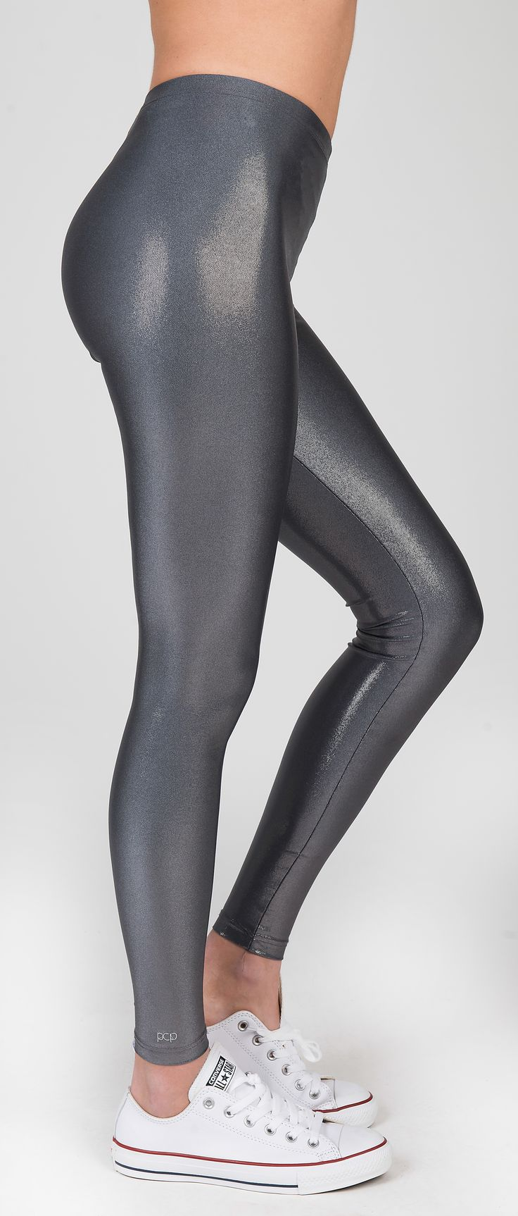 PCP Oblivion - grey glitter leggings