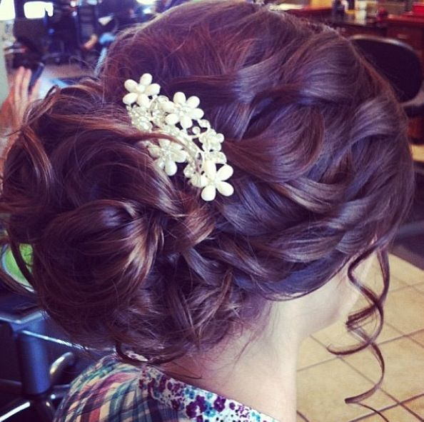 Prom hair. LOVE this hairstyle!