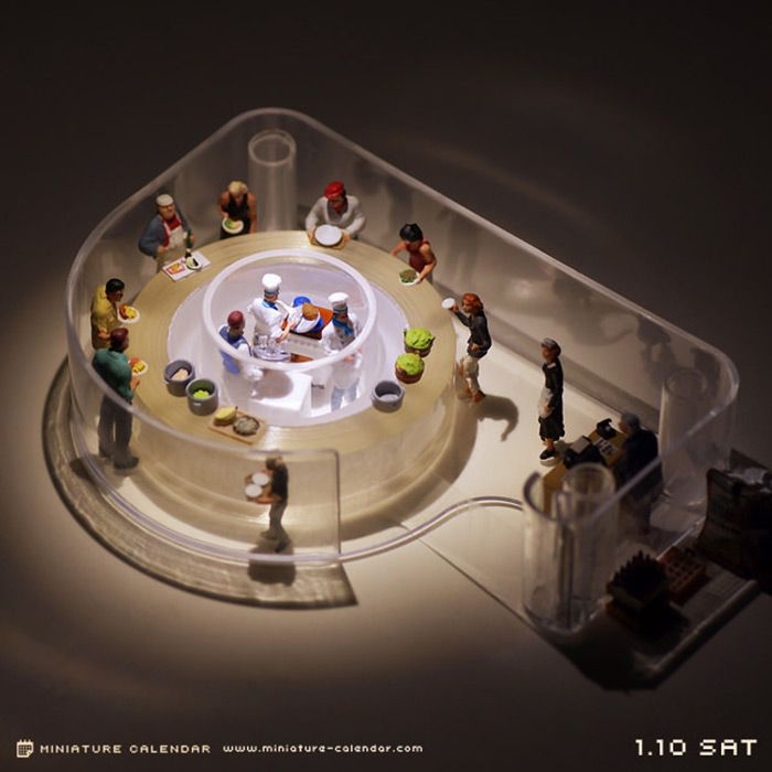 Miniature Dioramas by Tatsuya Tanaka | Faith is Torment | Art and Design Blog