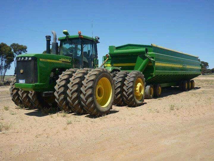 Large John Deere Farm Tractors : Big john deere tractors working pixshark