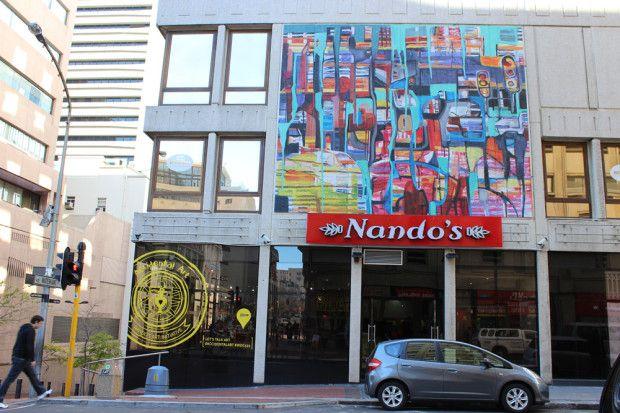 A Pop-up Instawalk by Nando's Accidental Art | Nandos on Long