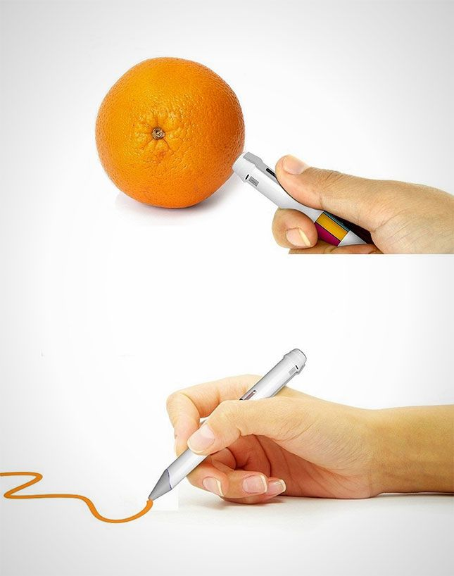 This color-capturing pen lets you draw with any color you see.