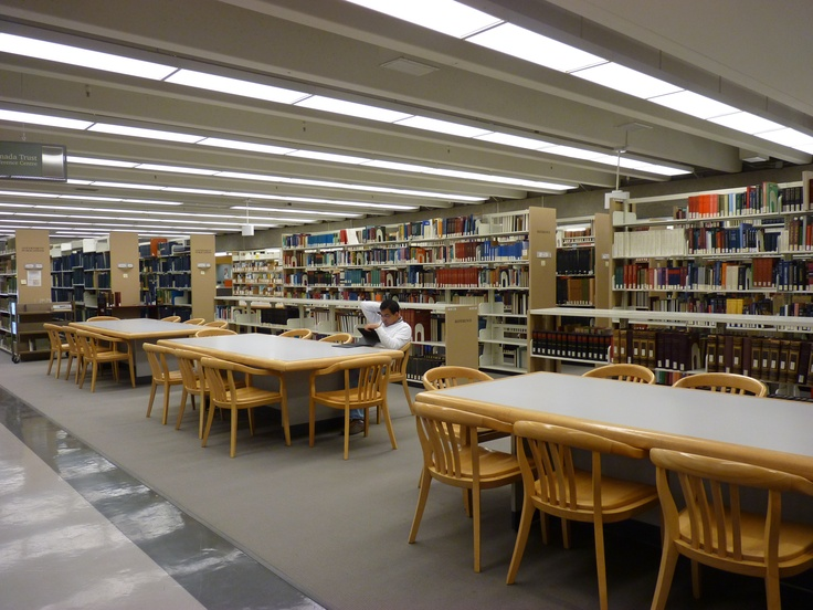 Koerner Library is a great resource for students who are looking for a quiet study area.  It can get busy during finals, but a keen eye will always be able to find a spot in this massive library!