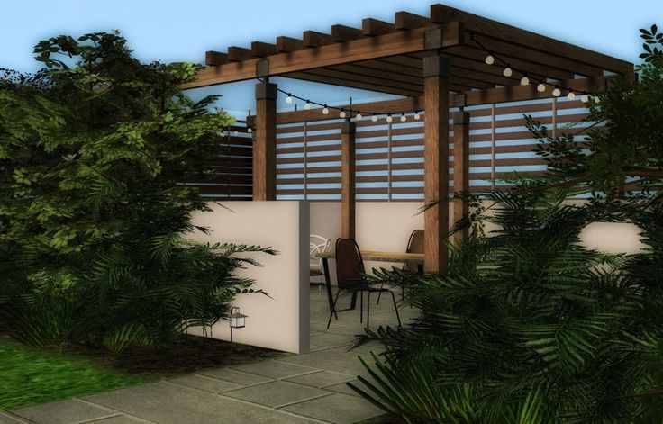 I am having my garden revamped and wanted to show the designer what I had in mind. And the only way I could show him accurately was to create it using the Sims game. Hence, the new pergola. So I...