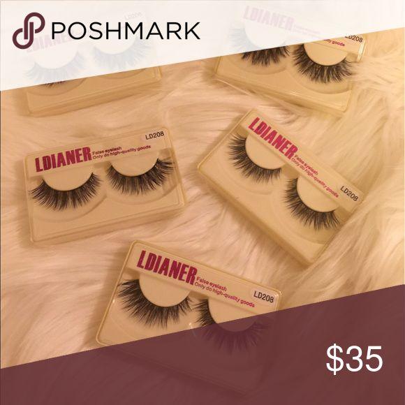 Mink Eyelash Mink Eyelash set of 5 Makeup False Eyelashes