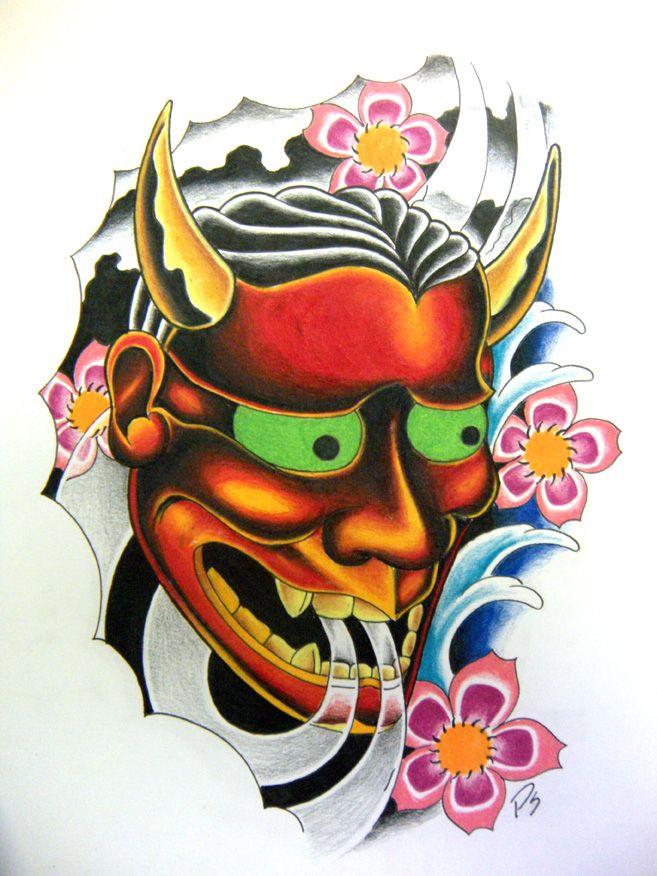 Hannya Mask by paulschulz