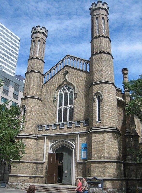 Англиканская  церковь  в  Торонто.