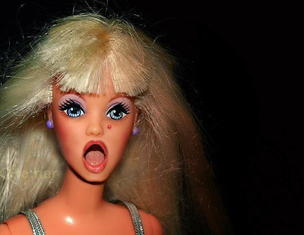 Bad Day Barbie by ~RubyPiaNazeem on deviantARTAverage Barbie, Bitch Funny Quotes, Bad Barbie, Barbie Stuff, Barbie Girls, Quotesmeoth Things, Barbie Bitch, Girls Barbie, Barbie Dolls