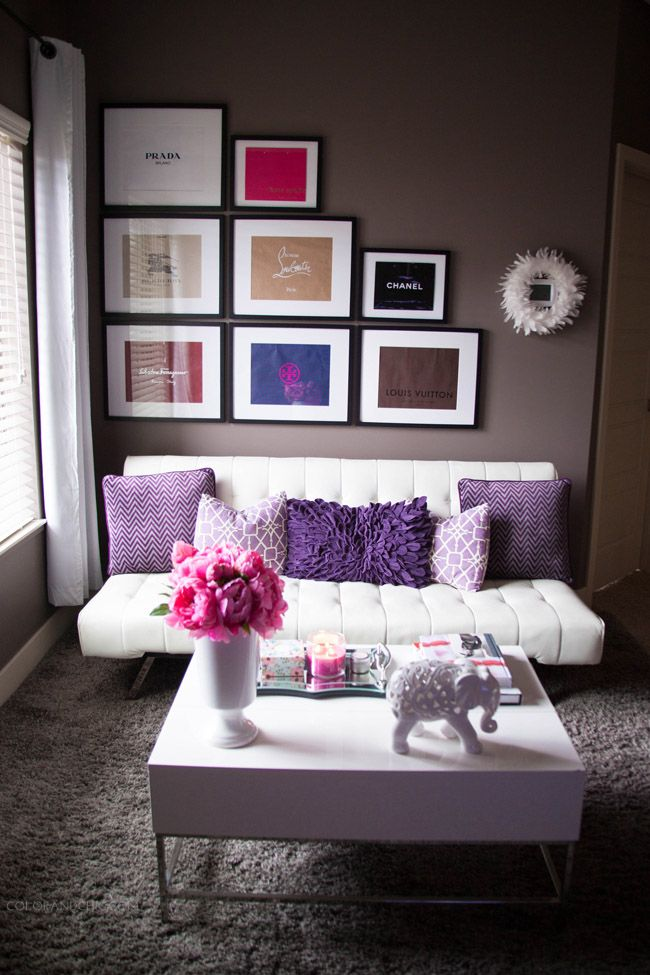 Living Room Styling | Color & Chic