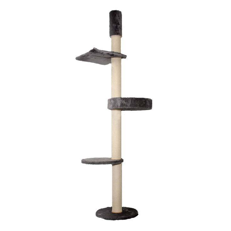 Kattens No. 1 - Kratzbaum Eiffel - Deckenspanner - grau - Luxus €259