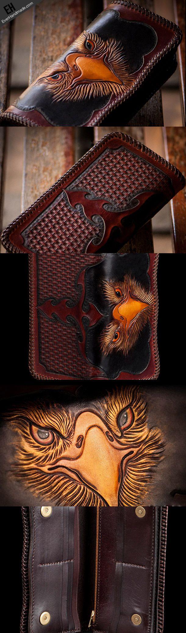 Art Bird Genuine Leather Passport Holder Wallet Case Cover for Men Women