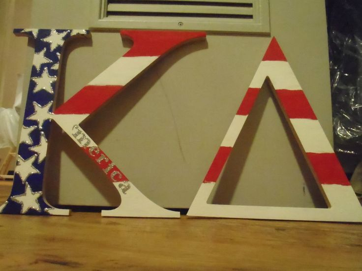 'Merica...Kappa Delta, need I say more? TSM.