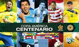 Copa America Centenario 2016 fixture