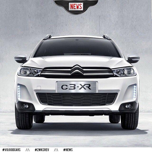 New Citroën C3-XR #vojoodcars #citroen #c3 #xr #c3-xr #suv #china #shanghai #news #love #cars