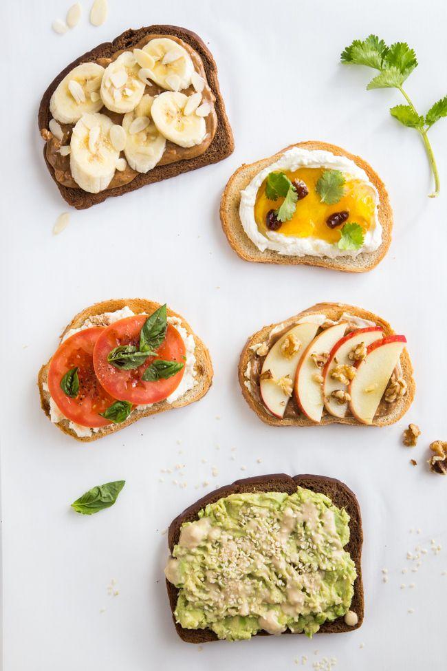 5 tasty, healthy toast recipes to try