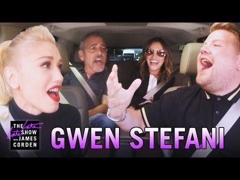 El imperdible karaoke sobre ruedas de Gwen Stefani junto a Julia Roberts y George Clooney | TN.com.ar