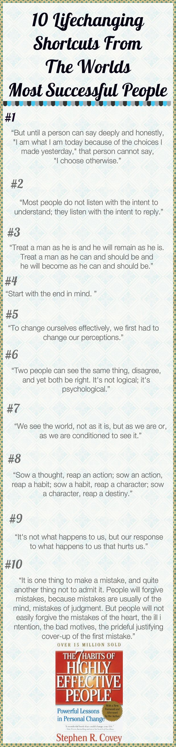 Daily Tips And Motivation   7 Habits Of Highly Effective People by Stephen R. Covey