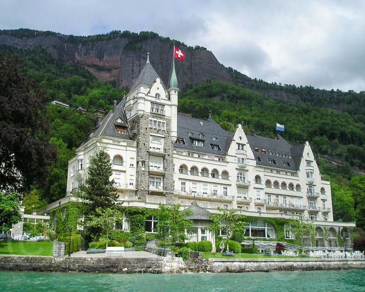 Park Hotel Vitznau on Lake Lucerne, Switzerland ✯ ωнιмѕу ѕαη∂у