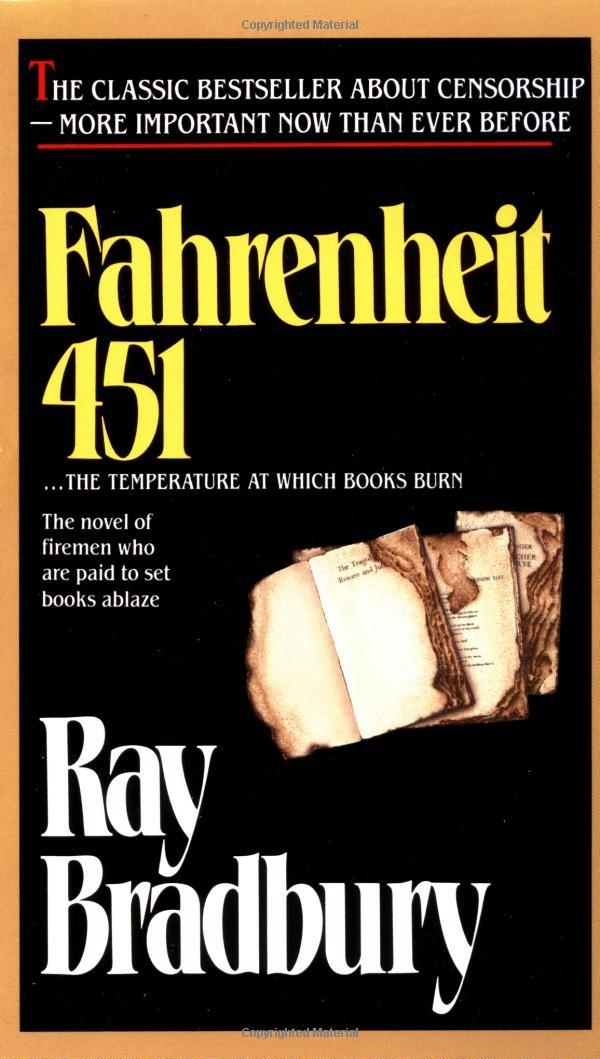 When did Ray Bradbury write Fahrenheit 451?