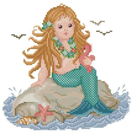 "Fantasy Babies ""Mermaid"" by Ellen Maurer-Stroh"