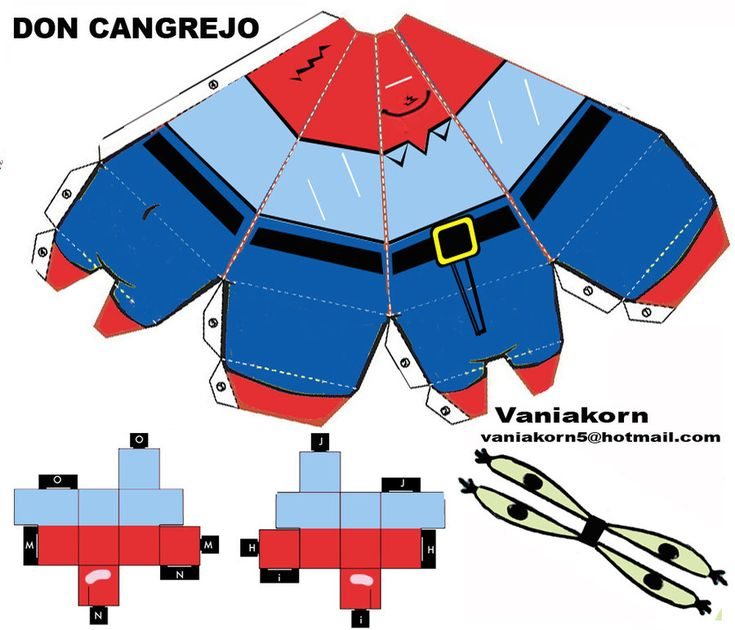 CUBEECRAFT KRABS CANGREJO by vaniakorn5.deviantart.com on @deviantART