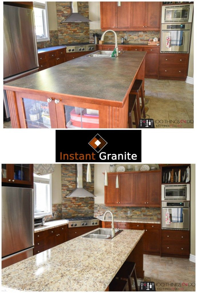 Instant Granite Kitchen diy Pinterest Kitchen, Kitchen remodel