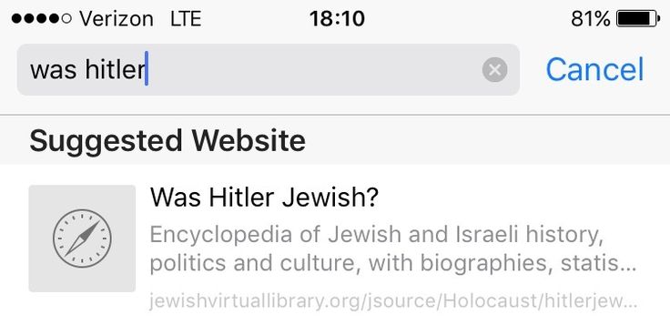 Was Hitler Jewish? Google Search funny humor