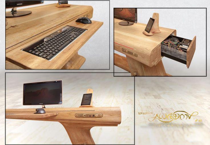 665 best Computer Desk Ideas images on Pinterest | Desk ...