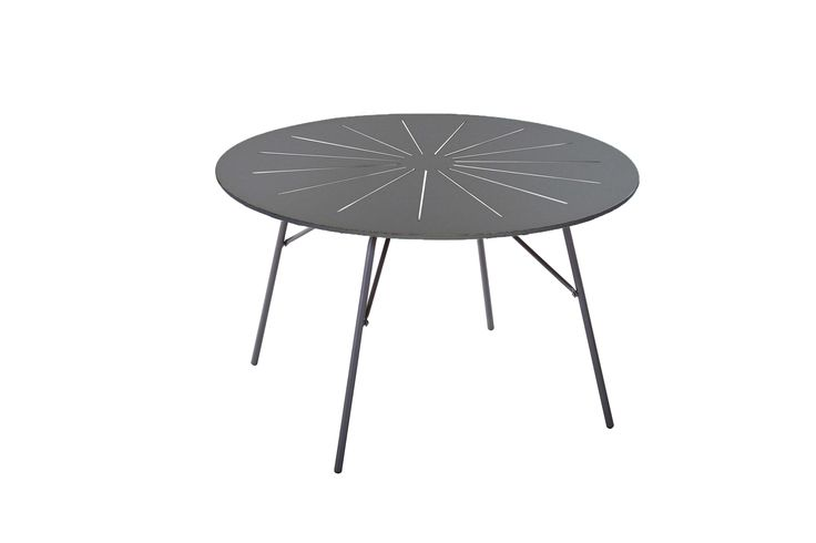 Marguerit folding table with table top in High Pressure Laminate top and aluminium frame.  100% weather resistant  design by Mandalay Denmark please visit www.mandalay.dk