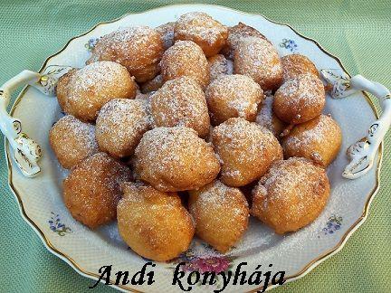 Túrófánk - Andi konyhája - Sütemény és ételreceptek képekkel