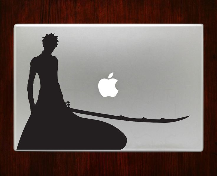 Ichigo bankai decal sticker vinyl for macbook pro air decal sticker vinyl for macbook pro