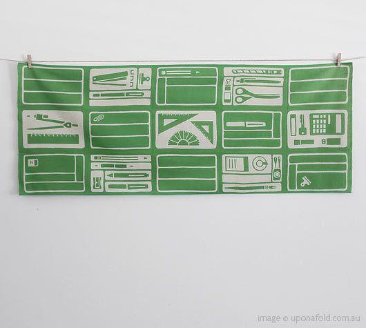 """beautiful """"office desk"""" patterned fabric: Tengui Patterns, Patterns Fabrics"""