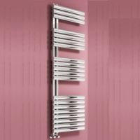Reina Scalo Stainless Steel Radiator - Polished / Satin Brushed