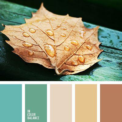 colores de otoño, colores del otoño tardío, colores para la primavera, colores turquesa y albaricoque, combinación de colores para otoño, marrón anaranjado y marrón, marrón anaranjado y turquesa, marrón anaranjado y verde, marrón pálido y carmesí, marrón y marrón
