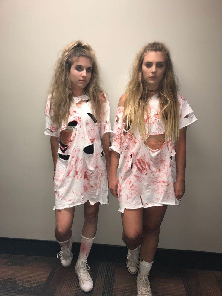 College Girl Zombie Halloween Costume  Halloween In 2019 -4304