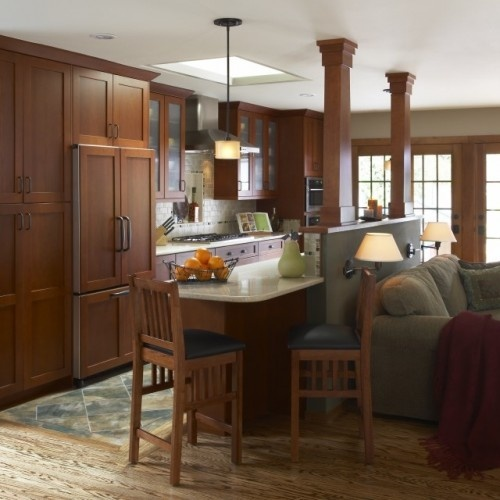 Kitchen Living Room Combination