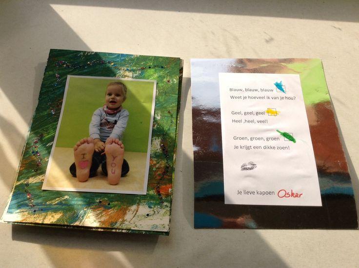 Cadeau voor oma en opa 2014 Door CV gemaakt