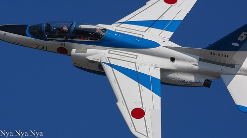 Kawasaki T-4 - Blue Impulse, Japanese Air Self Defense Force (JASDF), Japan