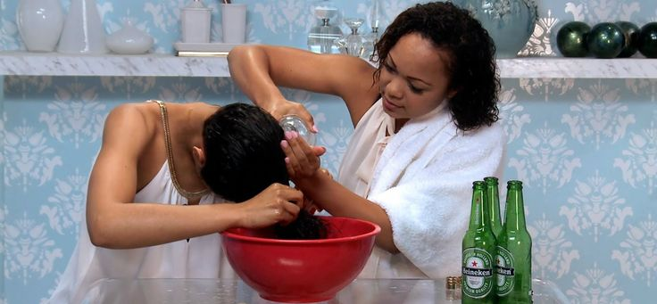 8 Advantages Of Washing Hair With Beer And How To Do It