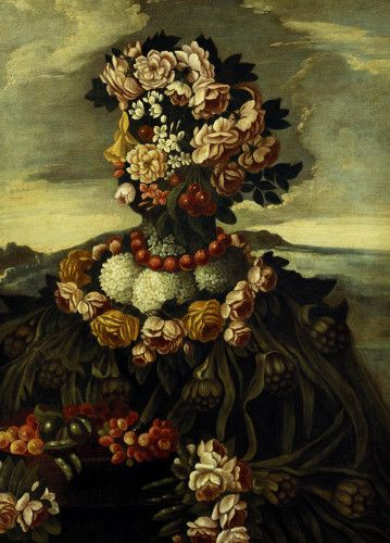 Spring, One Of The Four Seasons by Giuseppe Arcimboldo - art print from King & McGaw
