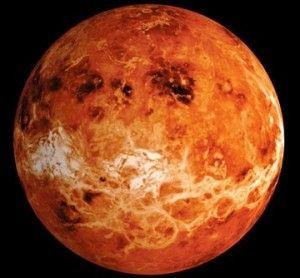 Венера - самая яркая и жаркая планета
