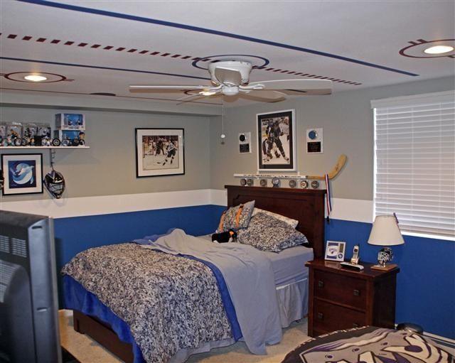 1000 Ideas About Boys Hockey Room On Pinterest Hockey Room Boys Hockey Be