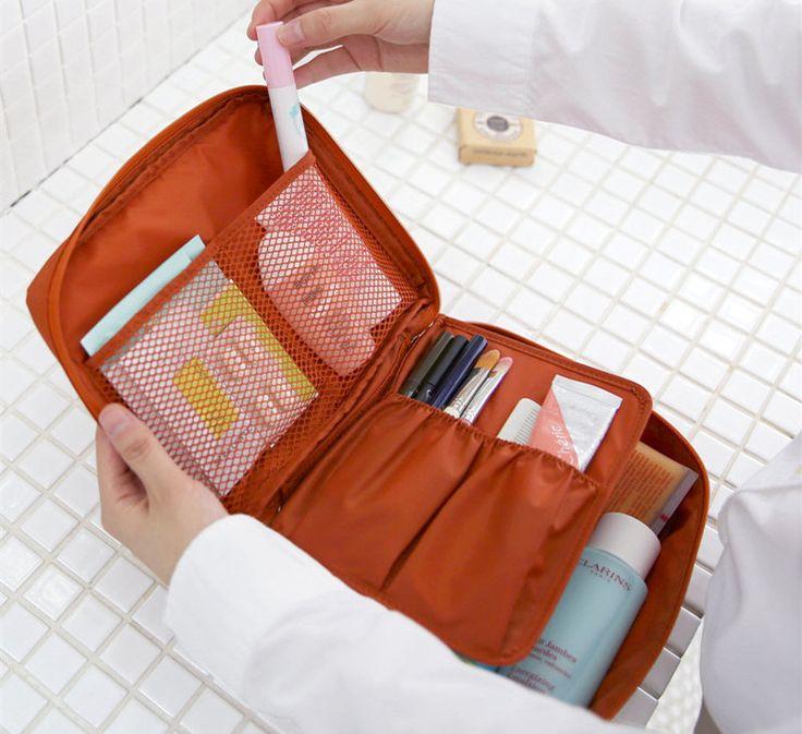 Travel Makeup bag organizer $4.49 Xmas Sale (originally $7.48)