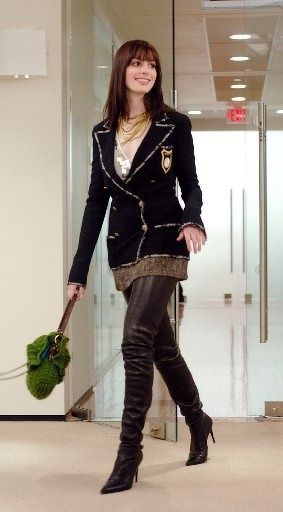 "Loved this outfit that Anne Hathaway wore in ""The Devil Wears Prada""!"
