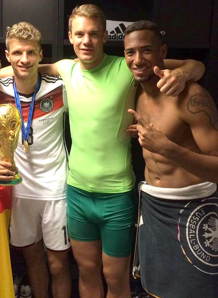 Manuel Neuer, Thomas Müller und Jerome Boateng | Manuel ...